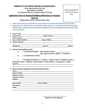 bangladesh passport renewal form usa application form for renewaladditionalalteration in