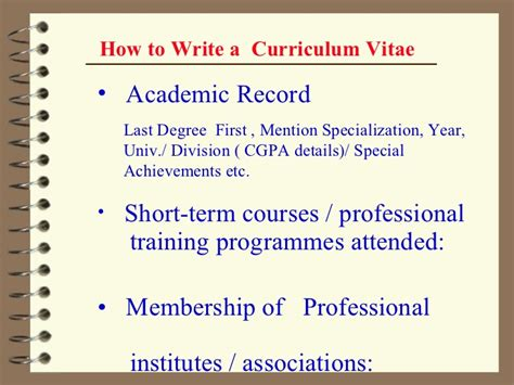 Bad History Resume by Professional Cv Ppt