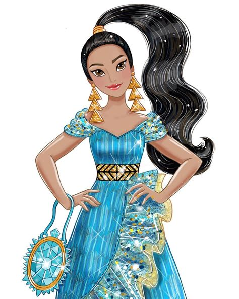 Beautiful concept art for Disney Princess Style series ...