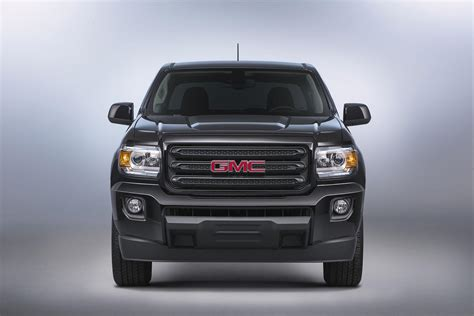 2018 Gmc Canyon Nightfall Edition Is Blacked Out Sinister