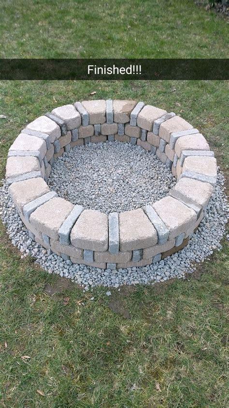 Diy Backyard Pit by Diy Brick Pit For Only 80