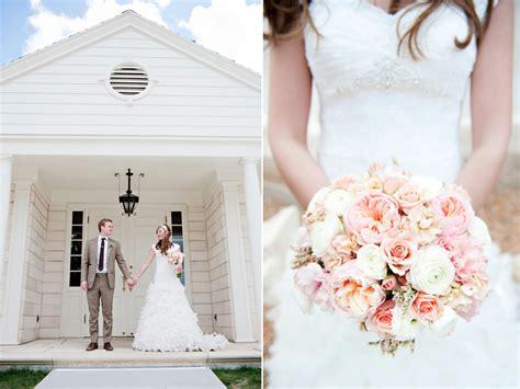 Mandie & David's Blush Wedding Flowers » Calie Rose