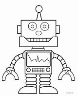 Robot Coloring Printable Cool2bkids sketch template