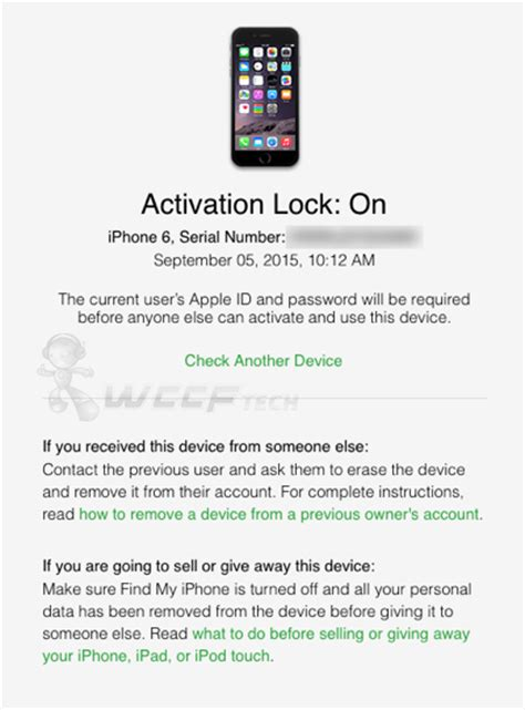 how do i find my iphone serial number check iphone icloud activation lock status