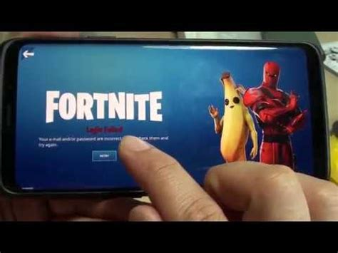 fix fortnite login failed error youtube