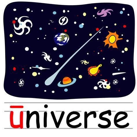 Universe Clipart Clip Basic Words Quot U Quot Sound Phonics B W