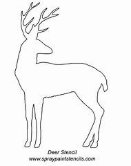Best Deer Stencil Ideas And Images On Bing Find What You Ll Love