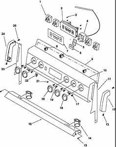 Amana Art6110w  P1142692nw Electric Range Parts