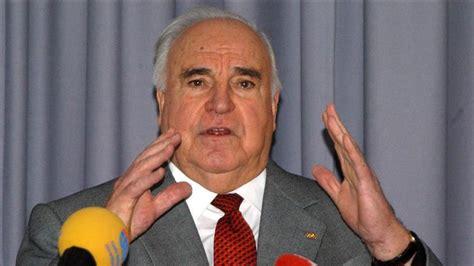 Ndërron jetë ish-kancelari i Gjermanisë, Helmut Kohl