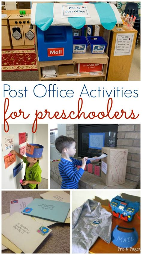 preschool classroom games post office and mailing activities for preschool all 453
