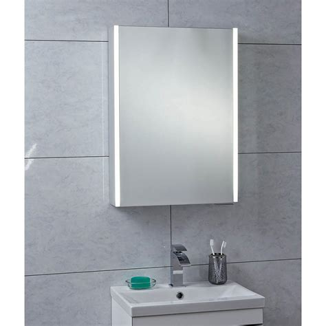 Mirror Bathroom Cabinet by Bathrooms Saturn Single Door Mirrored Cabinet