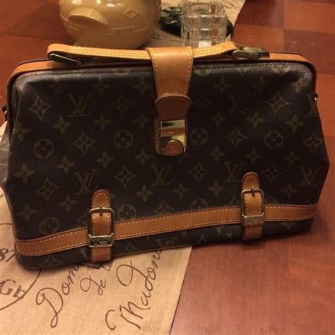vintage  rare louis vuitton doctors bag  vintage louis vuitton doctors bag mint