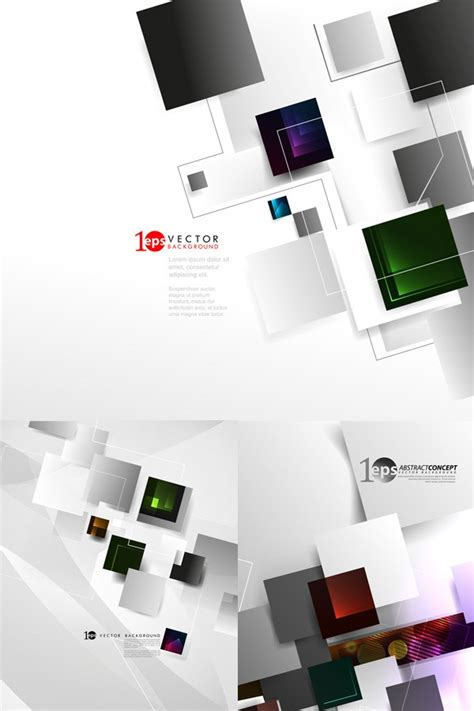 box business technology background vector graphics