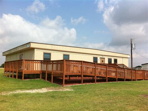 used modular daycare building for 329 | Front View of Modular Daycare