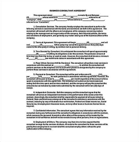 It Consultant Contract Template by It Consultant Contract Template Sletemplatess