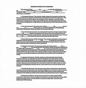 it consultant contract template sampletemplatess With it consultant contract template