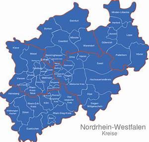 Nord Rhein Westfalen : nordrhein westfalen nrw kreise interaktive karte image ~ Buech-reservation.com Haus und Dekorationen