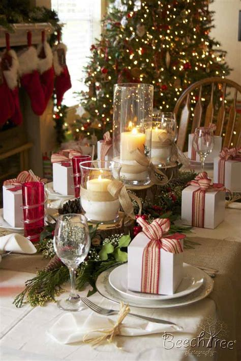 christmas decor for dining table how to decorate a table for christmas easyday