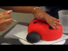 ladybug cakes images  pinterest