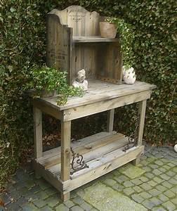 pflanztisch gartentisch cafes legumes antik landhausstil With französischer balkon mit shabby garten shop