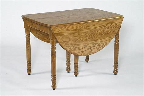amish oval drop leaf folding table