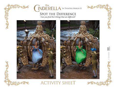 disneys cinderella coloring pages  activity sheets