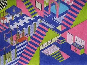 Perspektive Zeichnen Raum : pin von mel ling auf schulkunst perspektive 1 2 3 fluchtpunkt perspektive fluchtpunkt und ~ Orissabook.com Haus und Dekorationen