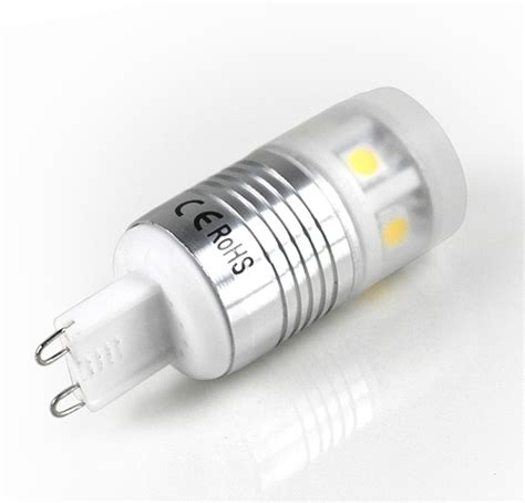 g9 led bulb with 11 x 5050 smd chips 35w 40w halogen