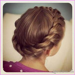 Cute hairstyles for school dances - LatestFashionTips.com