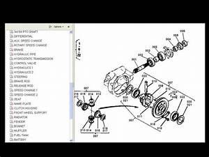 Kubota B6100 B 6100 E Tractor Operations Parts Manuals