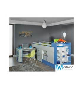 papillon designer bunk bed and desk combination