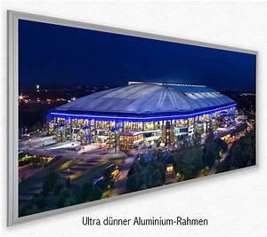 Led Wandbilder Shop : led bild fussballstadion arena gelsenkirchen deco art shop ~ Markanthonyermac.com Haus und Dekorationen