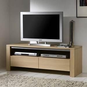 Meuble Tv Chene Massif Moderne : meuble tv en ch ne massif ~ Teatrodelosmanantiales.com Idées de Décoration