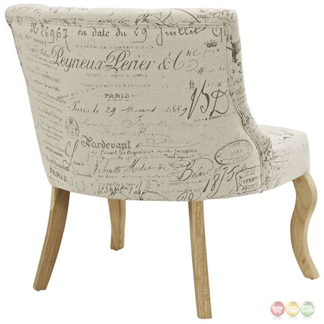 royal inspired patterned accent chair with curved