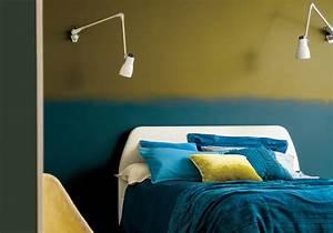 peindre un mur en deux couleurs dynamisez vos espaces With peindre salon 2 couleurs 6 nos astuces en photos pour peindre une piace en deux