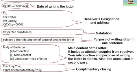 format  writing formal letters   study rankers