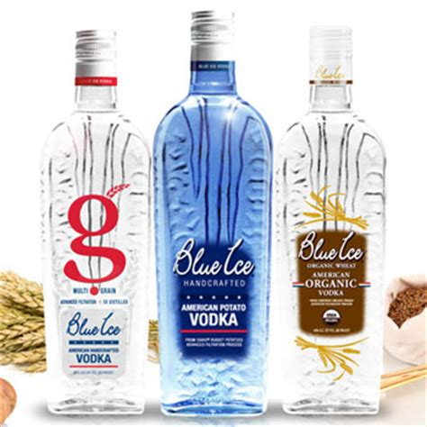 Blue Ice Vodka Becomes First Spirit With 'gluten Free' Label