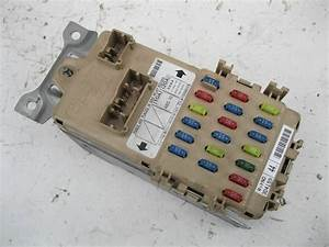 Subaru Impreza Wrx Gdb Sti 2002 Interior Fuse Panel Connection J009