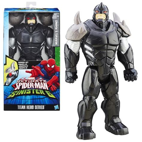 spider man titan heroes villain figure rhino staractionfigures co uk
