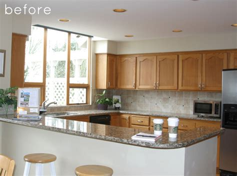 kitchen makeover pictures before and after before after kitchen makeover design sponge 9494