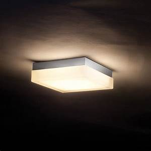 Luxury square ceiling lights for install fan no