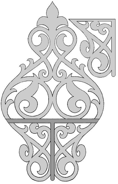 scroll  shelf patterns   woodworking