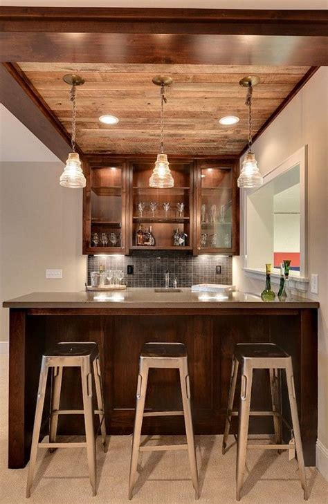 mini bar design plansjpg  basement decor bars