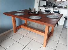 Making A Solid Hardwood Farm Style Table – Free Plans