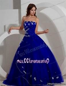royal blue quinceanera dresses with silver looks   B2B Fashion