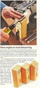 New Angles on Tool Sharpening • WoodArchivist