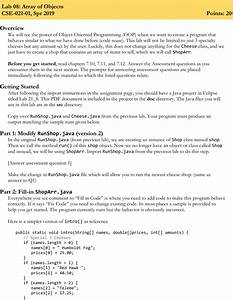 Lab08 Instructions