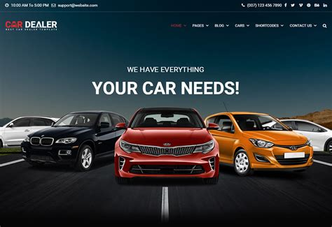 Automobile Website Design by Themes Directory Wplift S Themes Directory