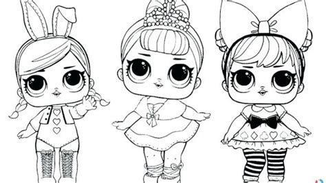 stunning ideas dolls coloring pages lol doll dawn