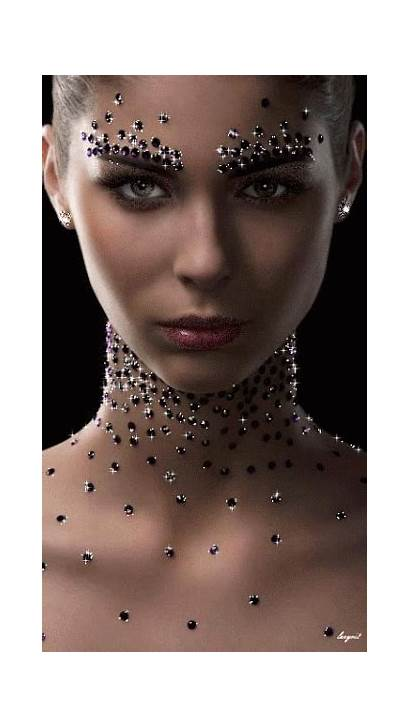 Makeup Fantasy Glitter Gifs Face Diva Diamonds